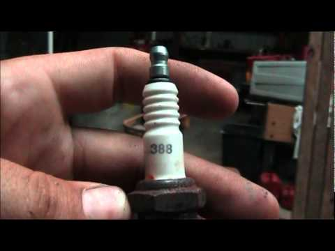 Spark Plugs in the Farmall - YouTube