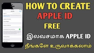 HOW TO CREATE NEW APPLE ID FREE (withou credit card)