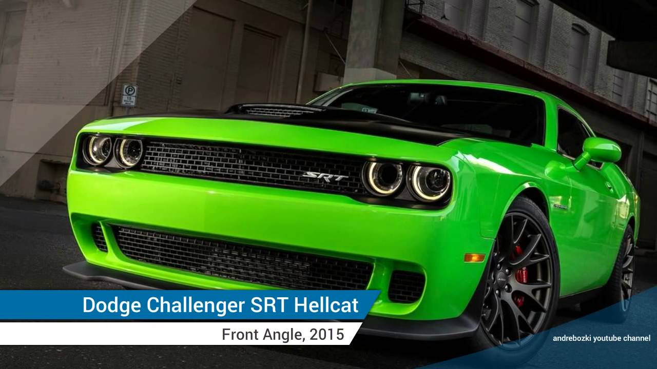 2015 Dodge Challenger Srt Hellcat Most Powerful Muscle Car Ever