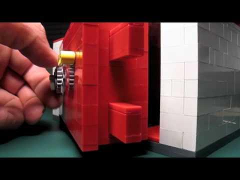 Combination Door Lock >> Lego Safe Combination lock - YouTube