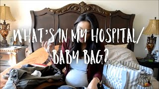 WHAT'S IN MY/BABY'S HOSPITAL BAG!