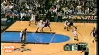 NBA Greatest Duels: Allen Iverson vs. Kobe Bryant (2003) *32 vs 44 FULL Highlights