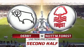 Derby County v Nottingham Forest | Second Half | Skybet Championship 2014-15 | 17/01/2015