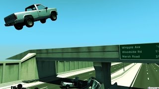 Matrix Freeway - beamNG.drive