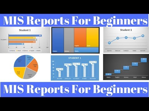 MIS Report in Excel for Beginners - YouTube