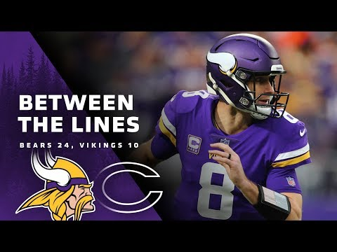 Between The Lines: Chicago Bears 24, Minnesota Vikings 10