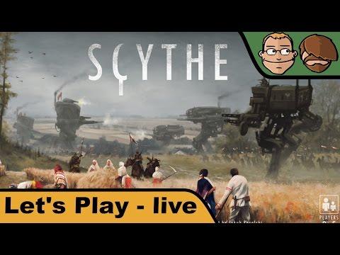 Scythe - Brettspiel - Spiel - Let's Play live mit Juliette