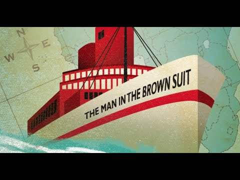 📚 The Man In The Brown Suit By Agatha Christie | Rewrite Book In Simple For Learning English