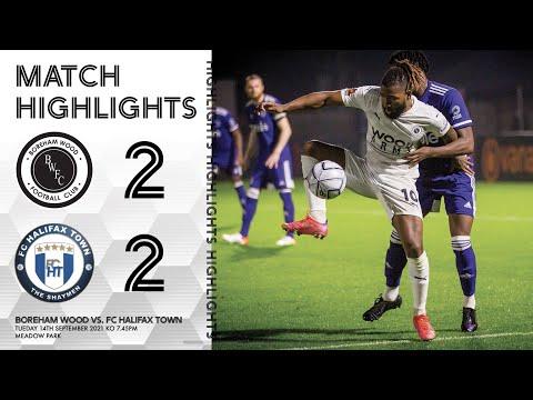 Boreham Wood Halifax Goals And Highlights