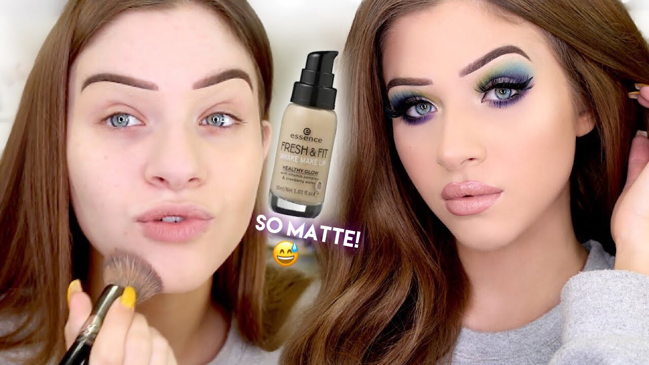 Essence Fresh Fit Awake Makeup Foundation Review First