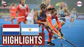 Netherlands v Argentina   2018 Women's Champions Trophy   HIGHLIGHTS