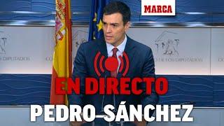 Rueda de prensa de Pedro Sánchez tras el Consejo de Ministros extraordinario, EN DIRECTO