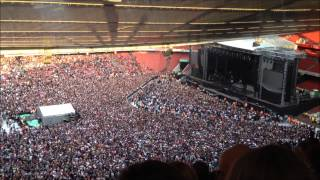 Green Day @ Emirates Stadium - Crowd singing along to Bohemian Rhapsody. 01.06.13 thumbnail