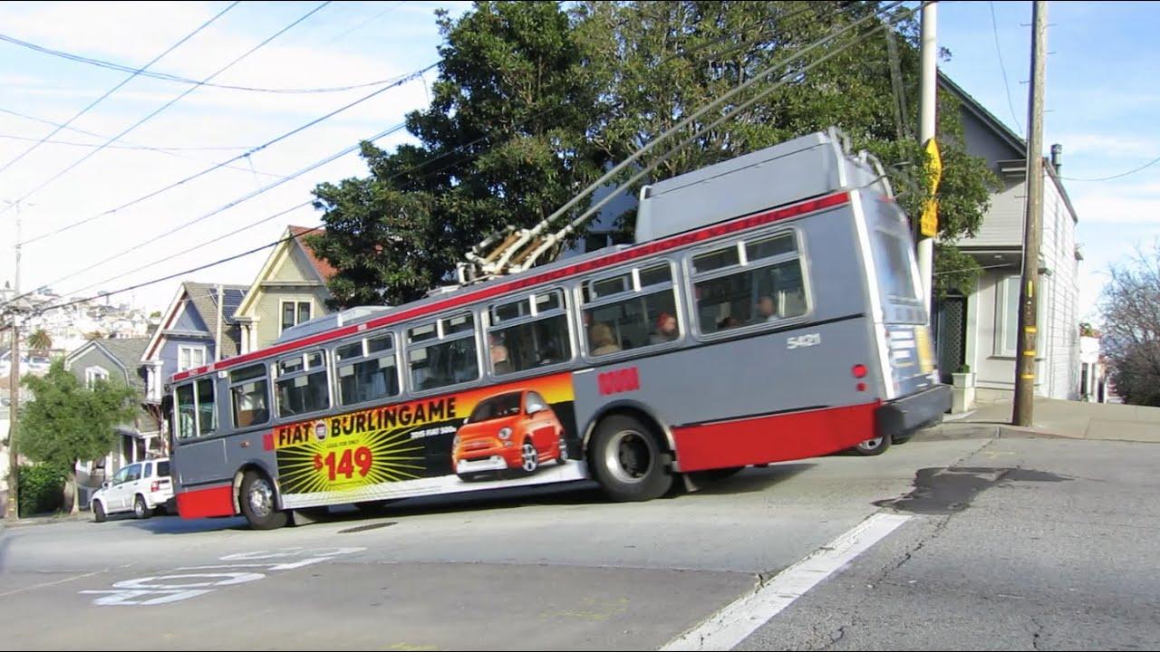 San Francisco Trolleybus - route