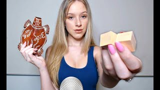 ASMR Wooden Sound Assortment | Tapping on Wooden Objects thumbnail