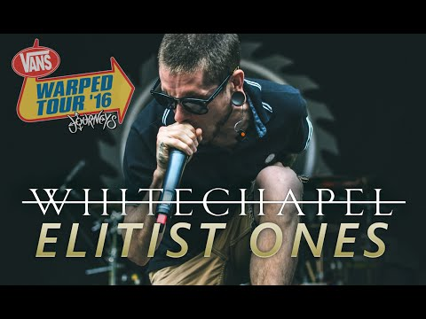 "Whitechapel - ""Elitist Ones"" LIVE! Vans Warped Tour 2016"