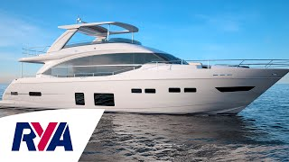 Boat Tour - Princess 75 Luxury Motor Yacht - Come aboard and explore at London Boat Show
