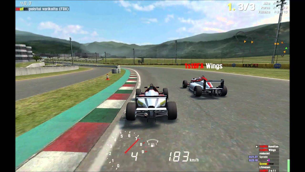 LFS Good racing clips - YouTube
