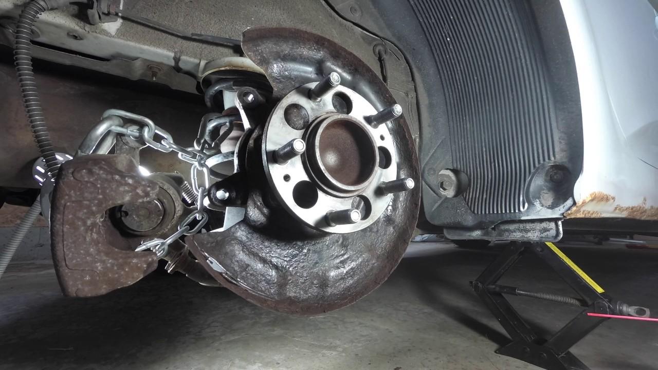 How To Change Break And Rotors Hyundai Veloster 2012