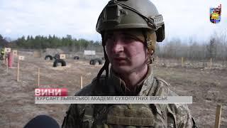 В НЦ ''Десна'' майбутні офіцери опановували стрілецьку зброю
