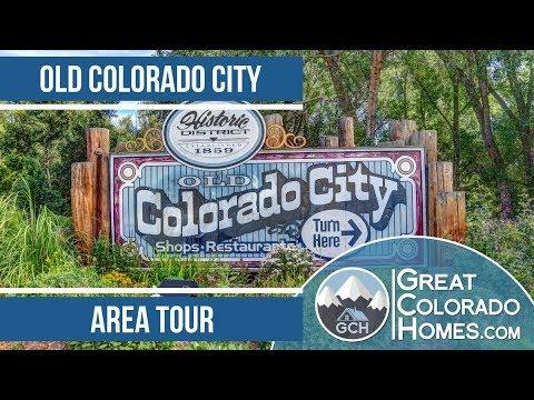 Old Colorado City, in Colorado Springs, CO | Video Tour