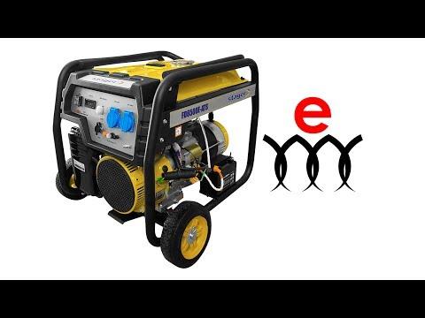 Бензинов монофазен генератор с ел старт и AVR PROENERG Stager FD 6500E #iw5LCnic0TY