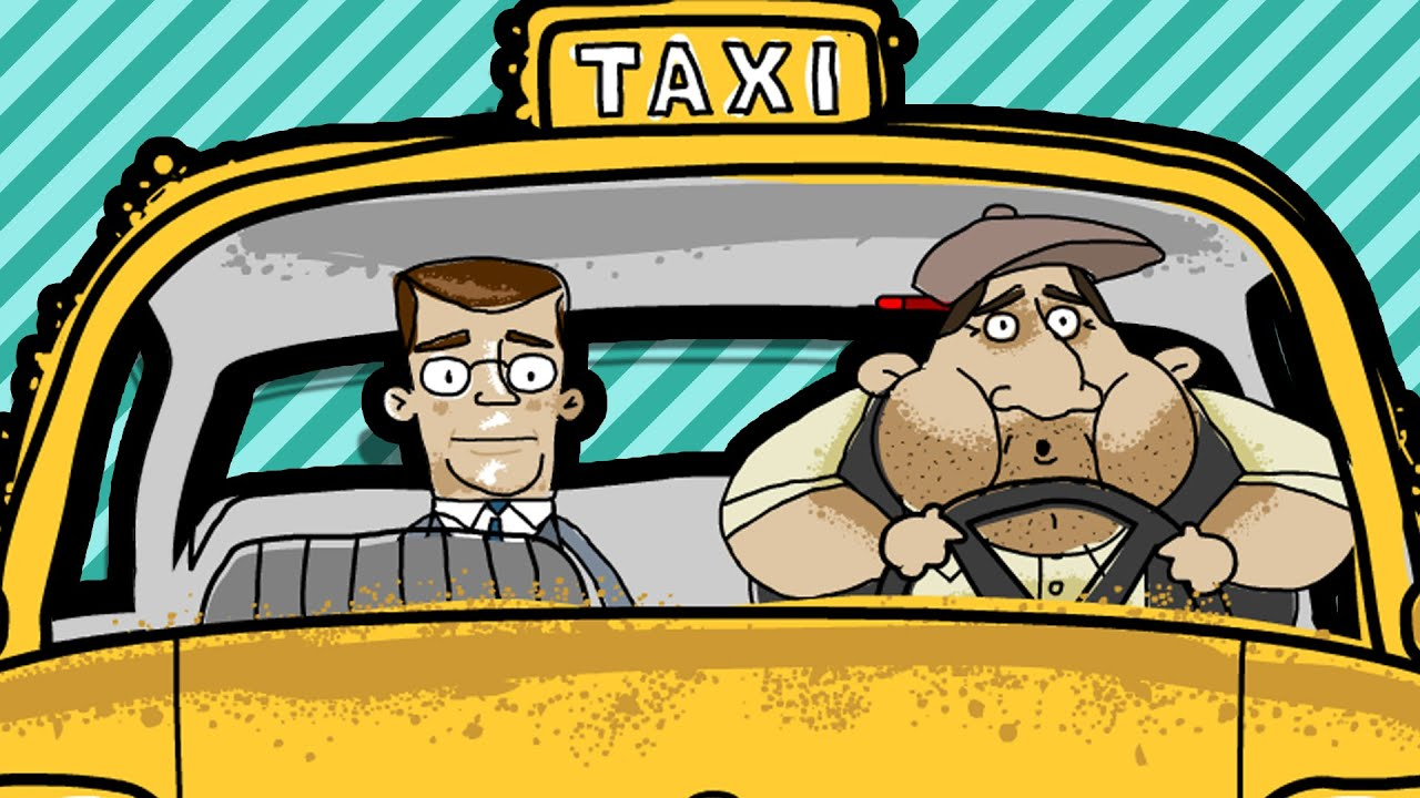 Image result for clip art cabbie