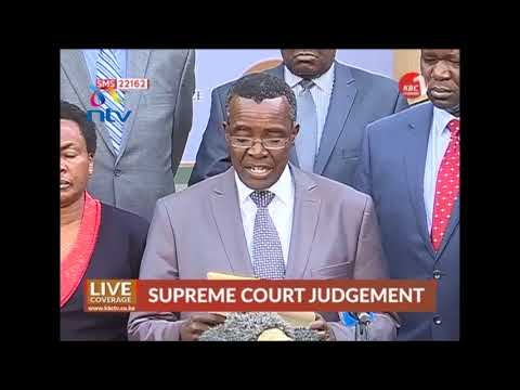Chief Justice David Maraga lashes out at detractors
