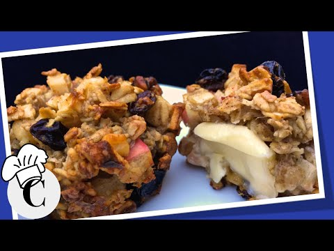 How to Make Apple Oatmeal Muffins! An Easy, Healthy Recipe!