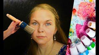 Урок для начинающих портретистов. Секреты живописи портрета |Фрагмент|