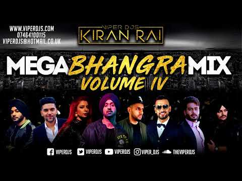 Mega Bhangra Mix Volume 4 | Kiran Rai | Latest 2018 Mix | Non Stop Hits