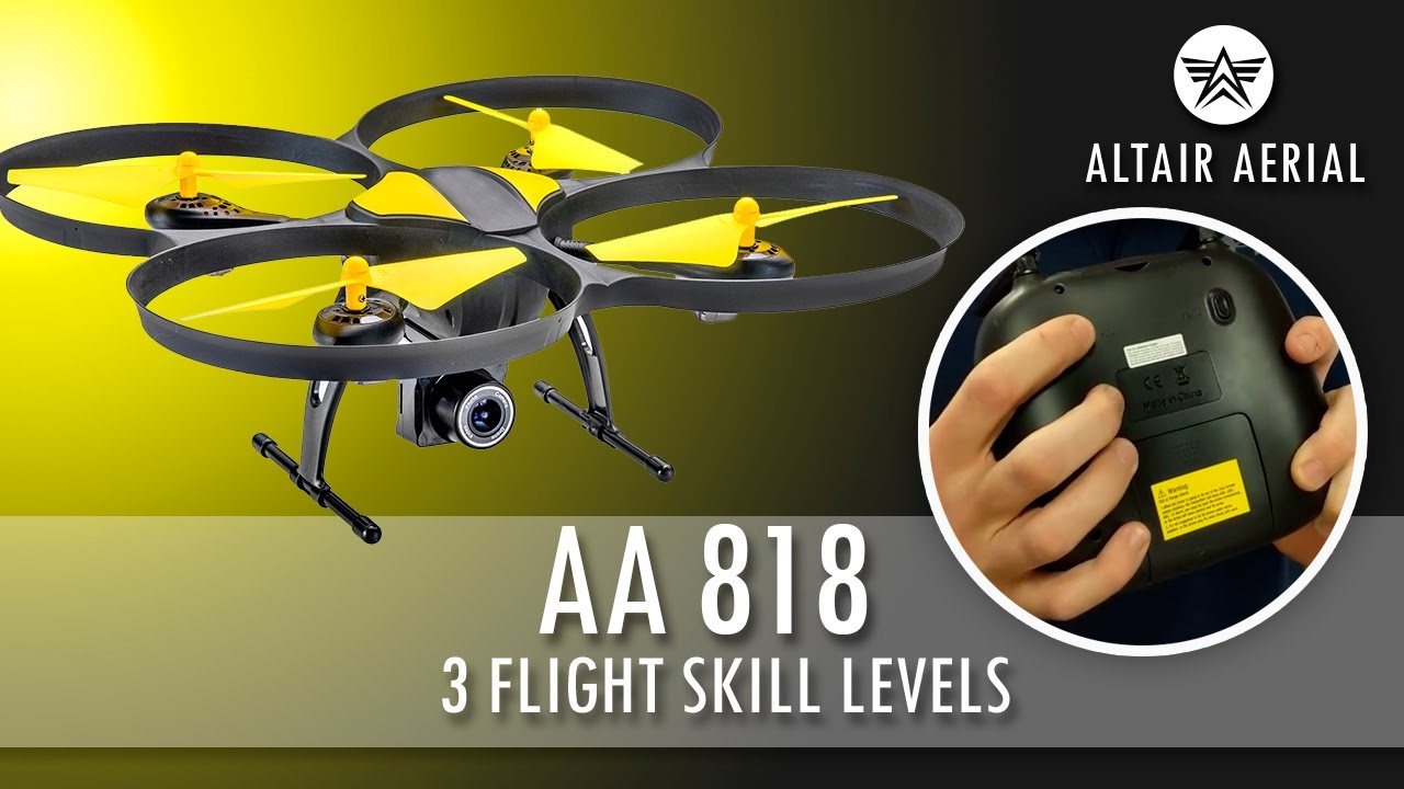 Altair 818 Hornet Instructional Tips & Videos – Altair Aerial