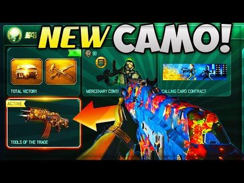 NEW FREE WEAPON CAMO!! - BLACK OPS 3 UNLOCKING UNDERWORLD NEW WEAPON CAMO!! (PART #1)