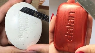 Soap Carving ASMR ! Relaxing Sounds #101 ! Satisfying ASMR Video
