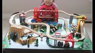 Kidkraft Metropolis Train Set And Table Toy Train
