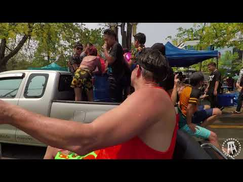 Songkran   The Largest Water Fight On Earth with DONNIE DOES