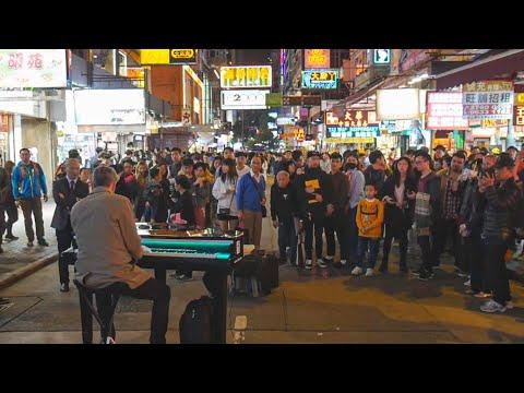 Arne Schmitt Street Piano Hongkong