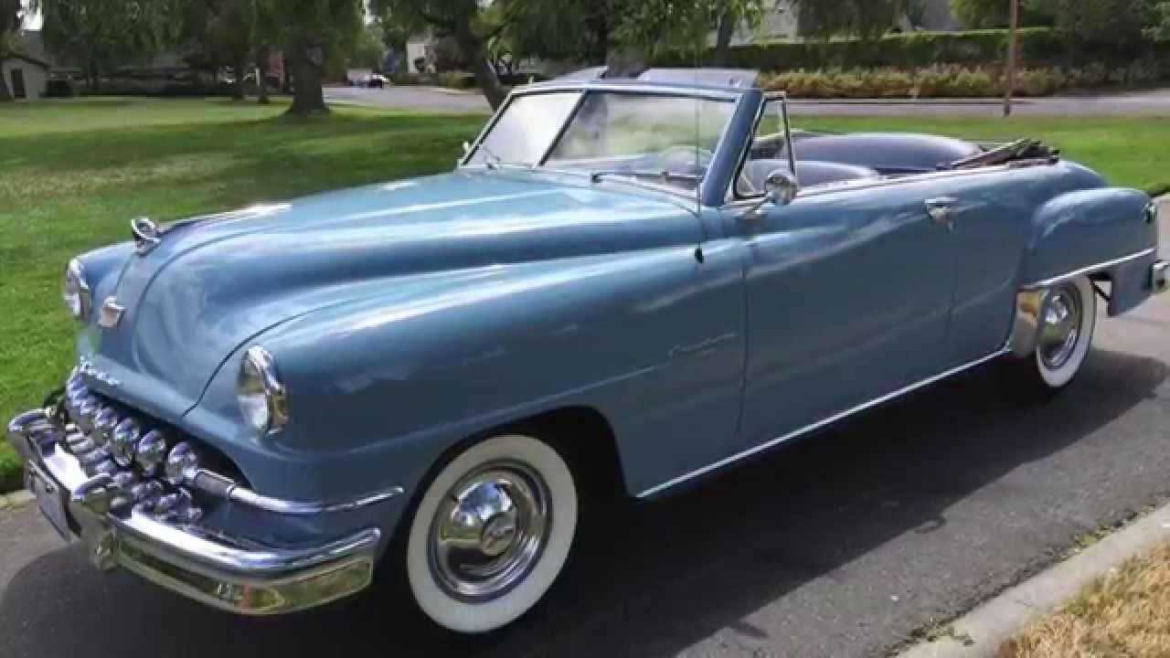 1951 Desoto Convertible For Sale