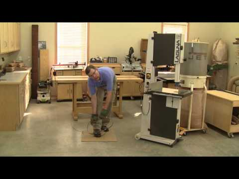 How to Coil a Band Saw Blade