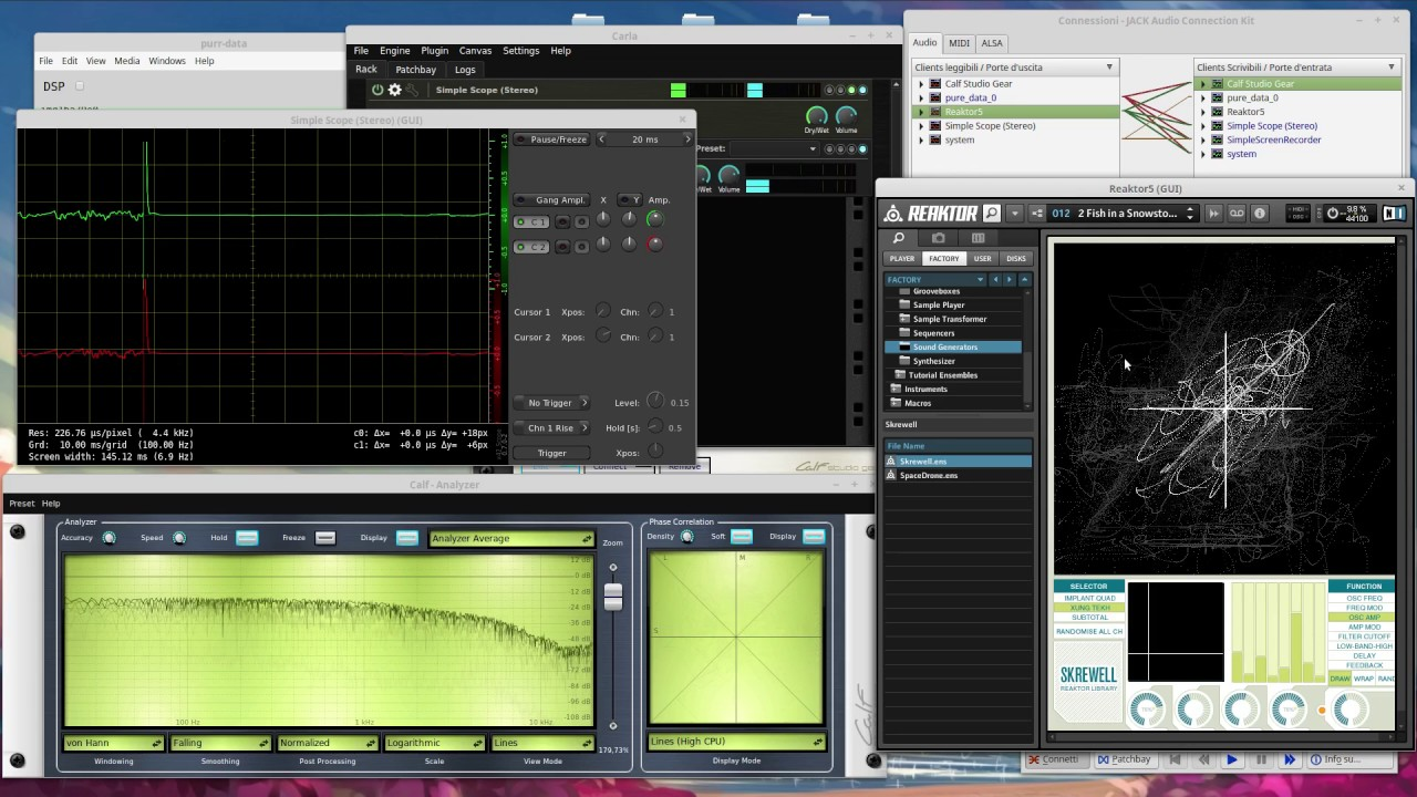 Linux audio lab