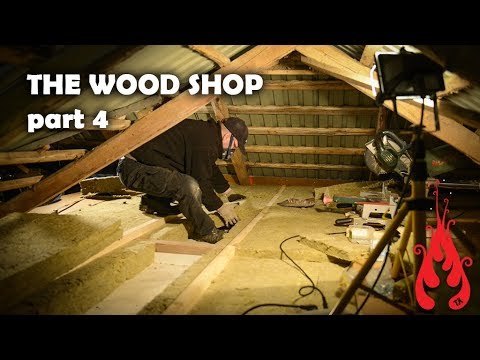 Building the wood shop 4