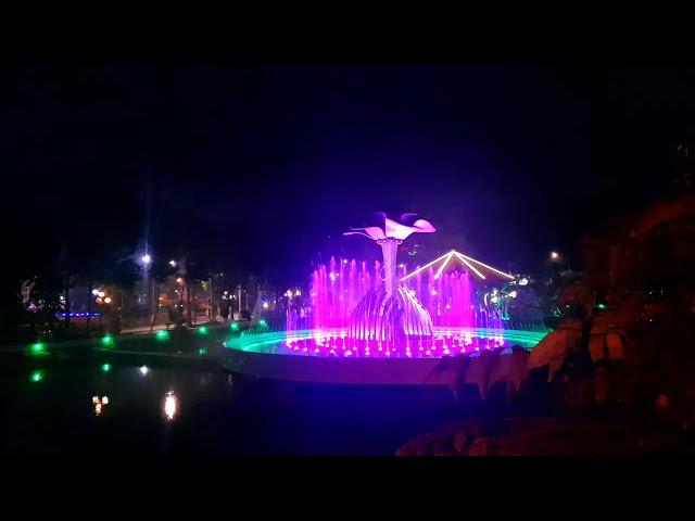 Nhạc nước công viên Bác Hồ - Tp. Sa Đép - Đồng Tháp -  NHƯ CÓ BÁC HỒ