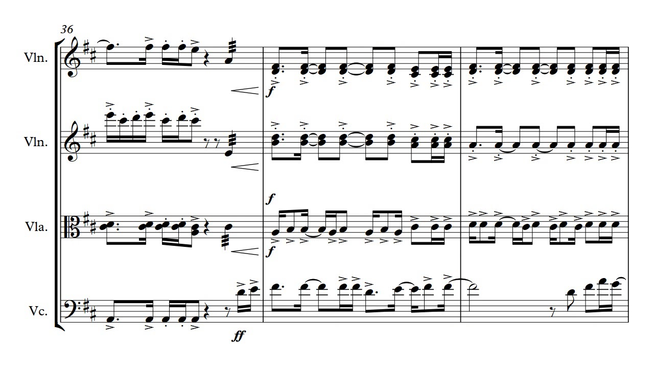 This is Me - from The greatest showman - String quartet/ Solo Violin sheet  music