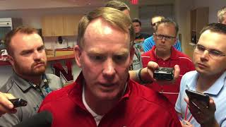 Husker AD Shawn Eichorst talks following loss to Northern Illinois