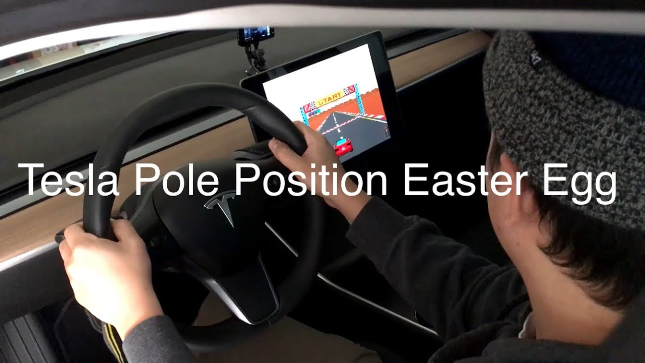 Tesla Model 3 - Pole Position (Easter Egg)