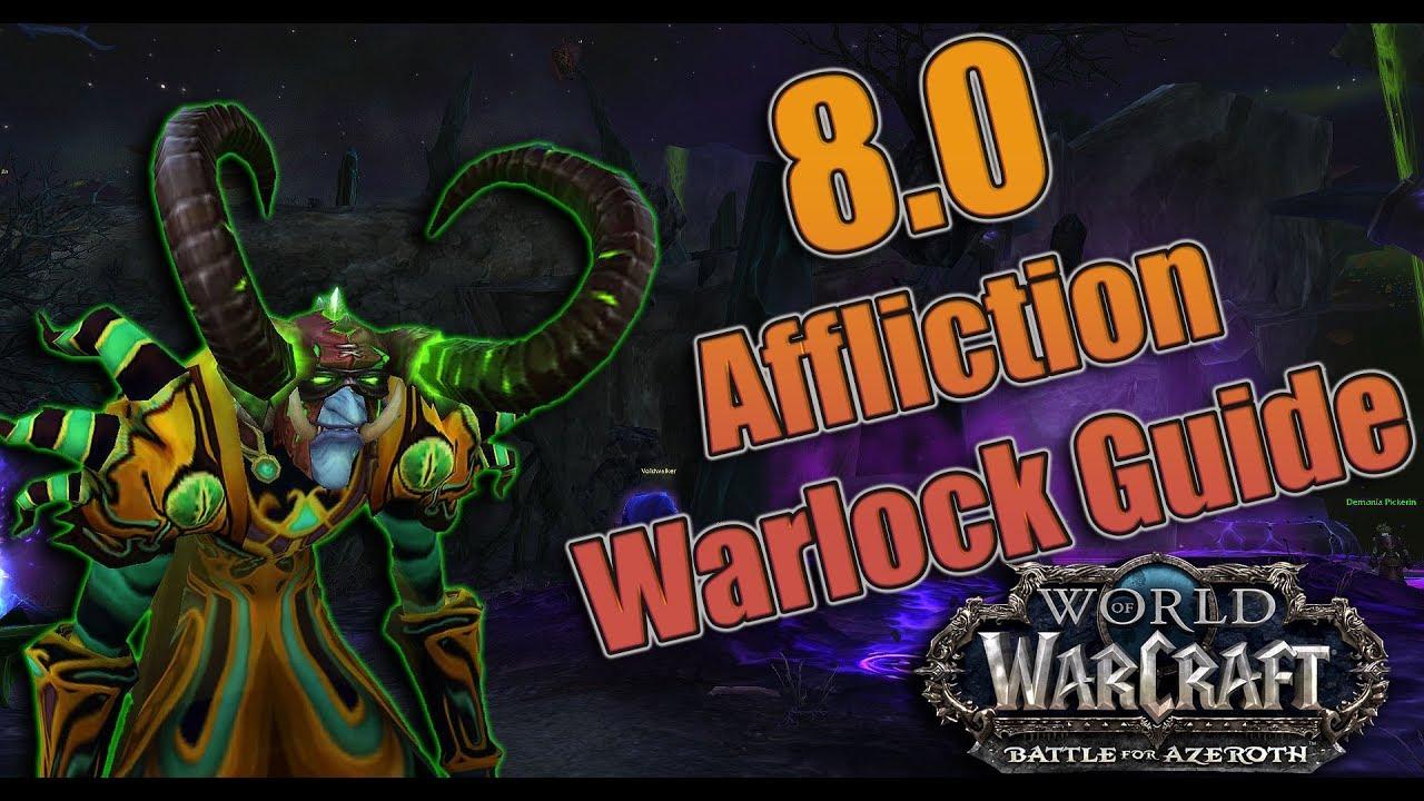 Wow affliction warlock