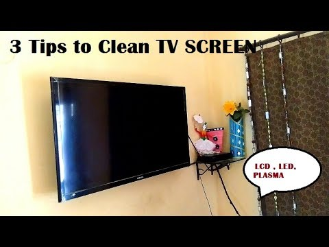 3 tips to clean tv screen led lcd plasma how to clean tv screen tv screen kaise saaf kare. Black Bedroom Furniture Sets. Home Design Ideas