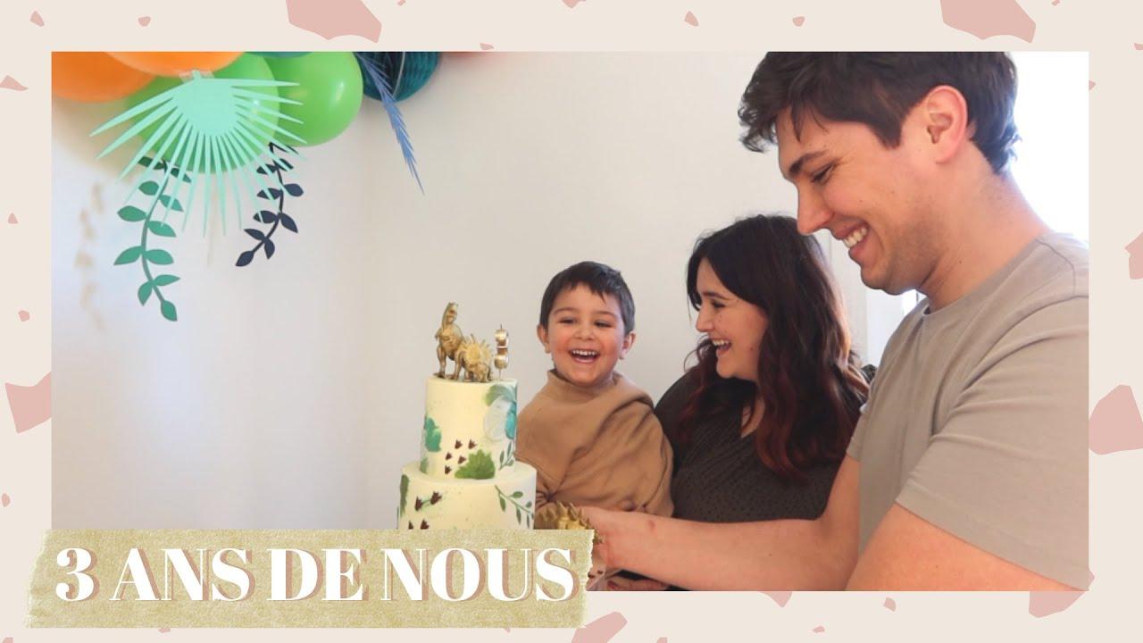 3 ans de nous !⎢VLOG