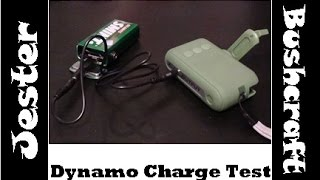 Battery Charge Test - Using A Dynamo Torch