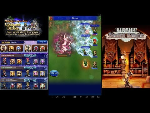 Final Fantasy Record Keeper - Multiplayer Apocalypse+ Melusine